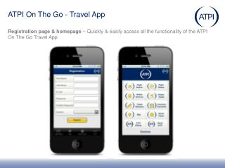 ATPI On The Go - Travel App