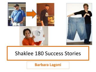 Shaklee 180 Success Stories