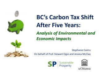 BC's Carbon Tax Shift After Five Years: Analysis of Environmental and Economic Impacts