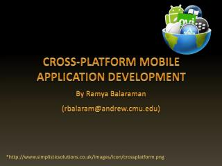 CROSS-PLATFORM MOBILE APPLICATION DEVELOPMENT