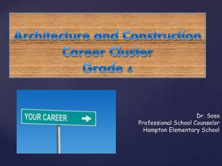 Architecture and Construction Career Cluster Grade 4