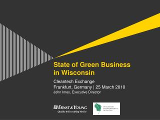 State of Green Business in Wisconsin