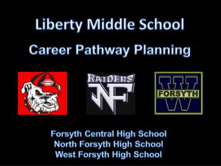 Liberty Middle School Career Pathway Planning