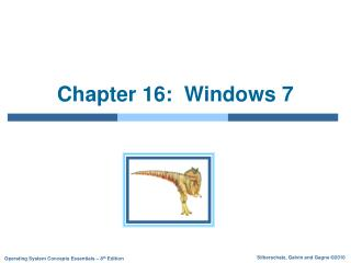 Chapter 16:  Windows 7