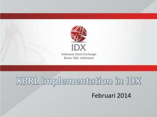XBRL Implementation in IDX