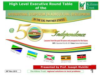 High Level Executive Round Table of the
