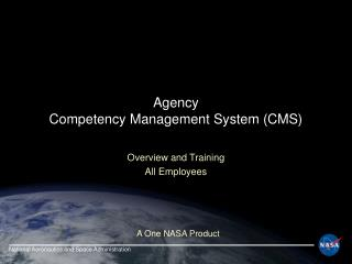 Agency Competency Management System (CMS)