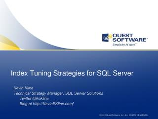 Index  Tuning  Strategies for SQL Server