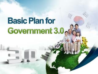 Basic Plan for Government 3.0