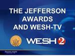 THE JEFFERSON AWARDS AND WESH-TV