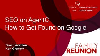 SEO on  AgentC How to Get Found on Google