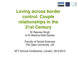 Loving across border  control: Couple  relationships in the  21st Century