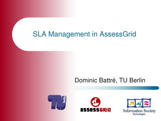 SLA Management in  AssessGrid