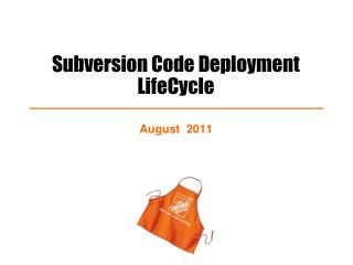 Subversion Code Deployment LifeCycle