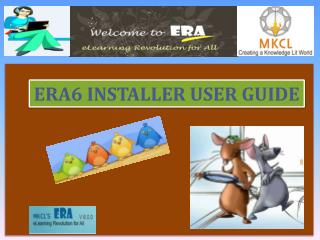 ERA6 INSTALLER USER GUIDE