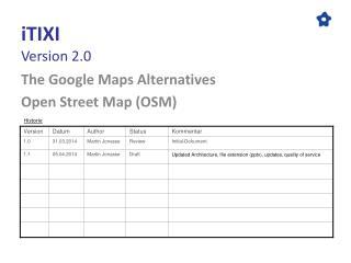 iTIXI Version 2.0