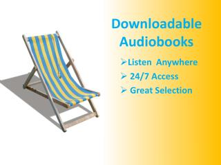 Downloadable  Audiobooks
