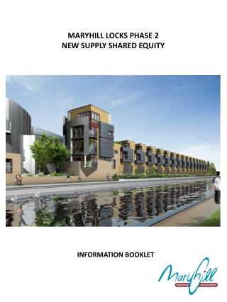 MARYHILL LOCKS PHASE 2  NEW SUPPLY SHARED EQUITY