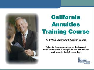 California Annuities Training Course