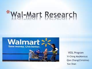 Wal-Mart Research