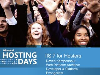 IIS 7 for Hosters