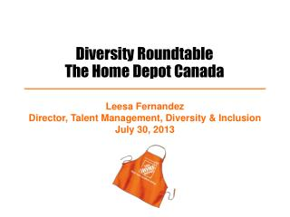 Diversity Roundtable The Home Depot Canada