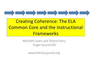 Creating Coherence: The ELA Common Core and the Instructional Frameworks