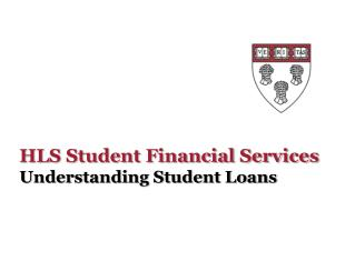 HLS Student Financial Services
