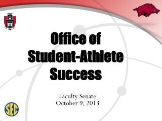 Office of  Student-Athlete Success