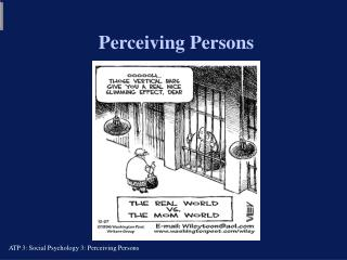 Perceiving Persons