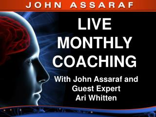 LIVE  MONTHLY  COACHING