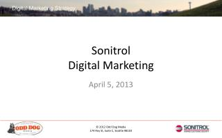 Sonitrol Digital Marketing