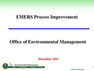 EMERS Process Improvement