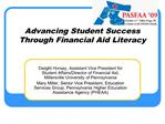 Advancing Student Success Through Financial Aid Literacy