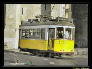Old tram of Lisbon  by  sacavem