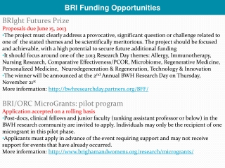 NIH Challenge Grants  Opportunities for Advancing Nursing Research