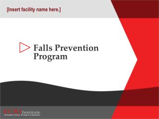Falls Prevention Program
