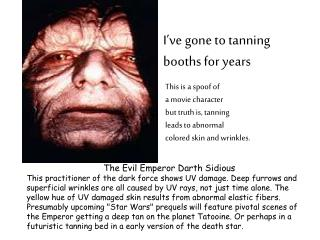 The Evil Emperor Darth Sidious
