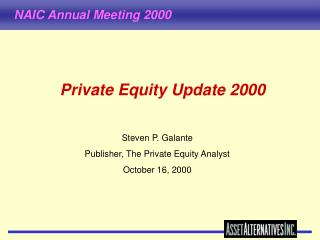 Private Equity Update 2000