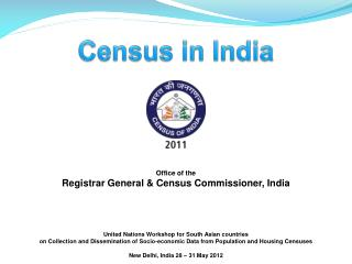 Office of the Registrar General & Census Commissioner, India