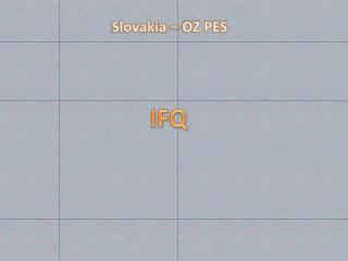 Slovakia – OZ PES