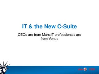 IT & the New C-Suite