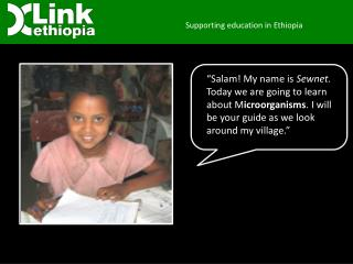 Supporting education in Ethiopia