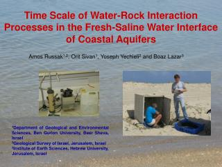 Time Scale of Water-Rock Interaction Processes in the Fresh-Saline Water Interface of Coastal Aquifers