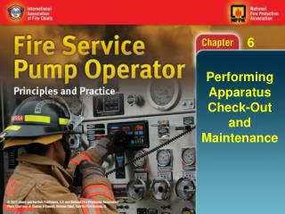 Performing Apparatus Check-Out and Maintenance