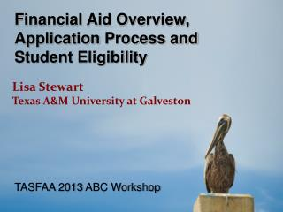 Financial Aid Overview,  Application  Process and Student Eligibility