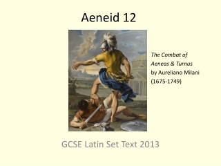 Book VI: Aeneas in the Underworld