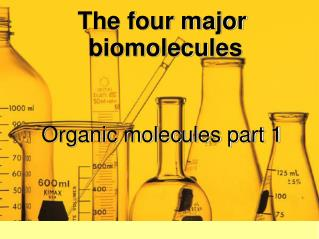 The four major biomolecules
