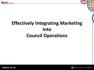 Effectively Integrating Marketing Into Council Operations