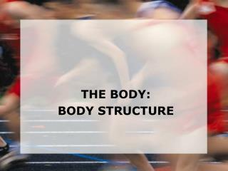THE BODY: BODY STRUCTURE